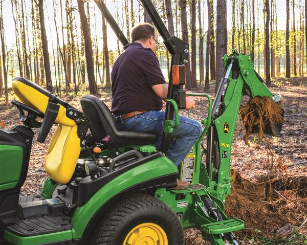 Remove Tree Stump with 1025R | SunSouth